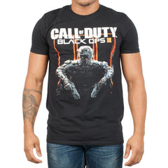 Call of Duty Black Ops 3 Character Logo Adult T-Shirt