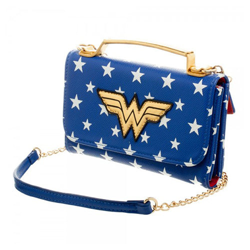DC Comics Wonder Woman Inside Out Cross Body Wallet Clutch DC Comics