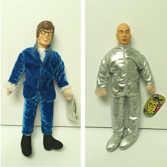 Austin Powers and Dr. Evil Play by Play Doll