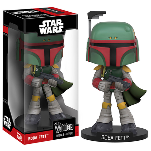Funko Wobbler: Star Wars - Boba Fett Action Figure
