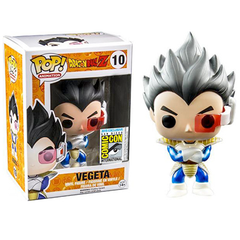 Vegeta Sdcc 2015 Comic-con Exclusive Pop Chrome Metallic Funko Dragon Ball Z