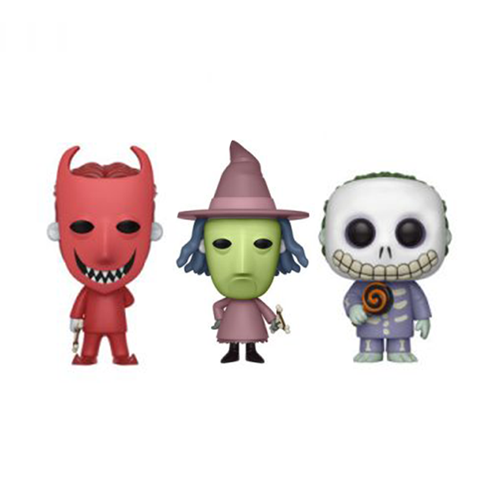 Nightmare Before Christmas Lock, Shock, and Barrel Funko Pop! Bundle
