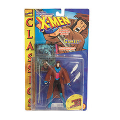 Gambit X-men Animated Classics Toy Biz Power Kick Action Figure