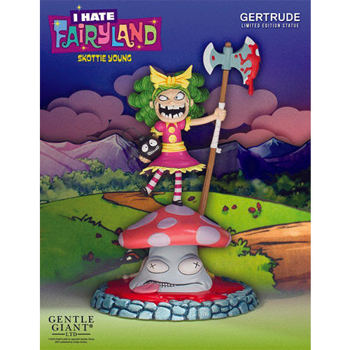 SDCC 2017 Gentle Giant Ltd Skottie Young's I Hate Fairyland Gertrude Statue