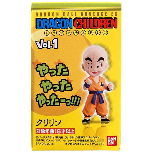 Dragon Ball Z Adverge EX Krillin 2-Inch Mini Figure