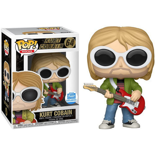 Nirvana Funko POP! Rocks Kurt Cobain Exclusive Vinyl Figure #64