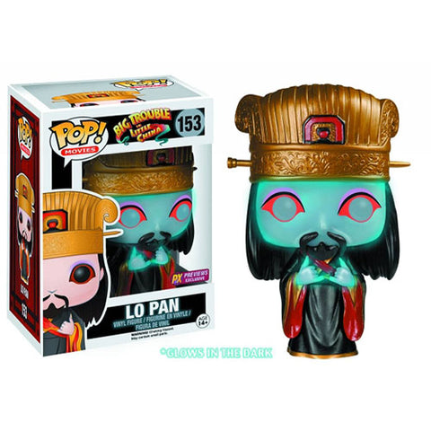 Ghost Lo Pan Big Trouble In Little China GID Funko Pop! Vinyl Figure