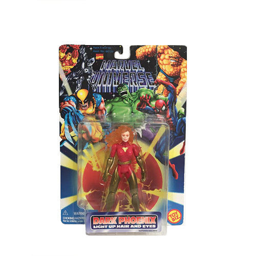 Dark Phoenix with Light Up Hair and Eyes Marvel Universe Action Figure - By Toy Biz