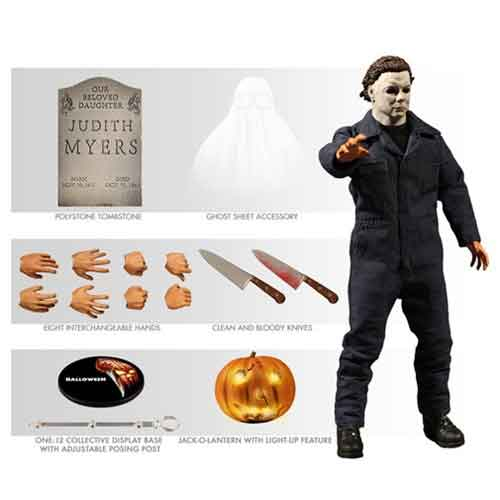Mezco Michael Myers One:12 Collective Halloween Figure