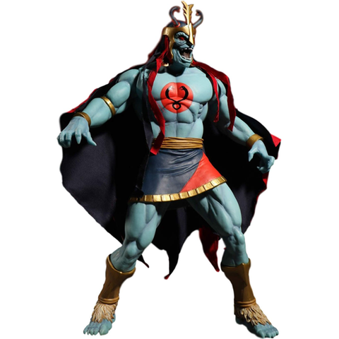 Thunder Cats Mega Scale Mumm-ra Glow-in-the-Dark Edition Mezco