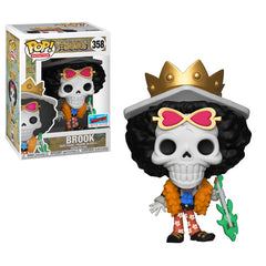 Funko POP #358 Brook One Piece Skeleton NYCC 2018 Hot Topic