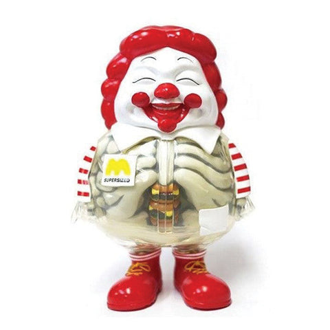 X-Ray Mc Supersized Super Sized Me Ron English Signed Exclusive