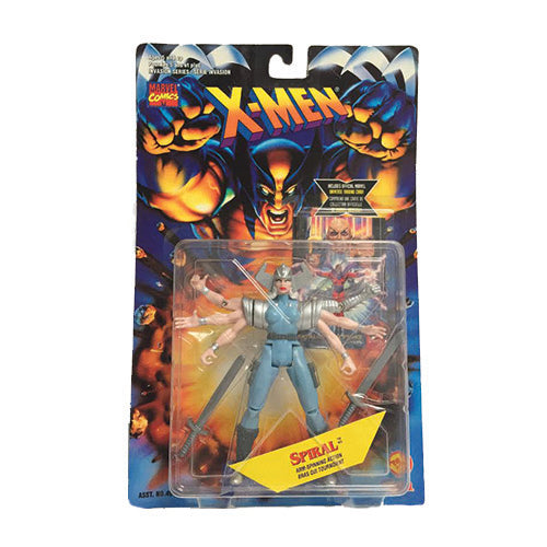 Spiral X-Men 1995 Action Figure Toy Biz Marvel