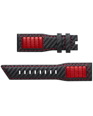 ZINVO Q4 RED CARBON STRAP