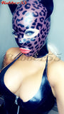 Leopard Hood with Slave Collar