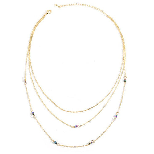 3 Layered Choker Necklace