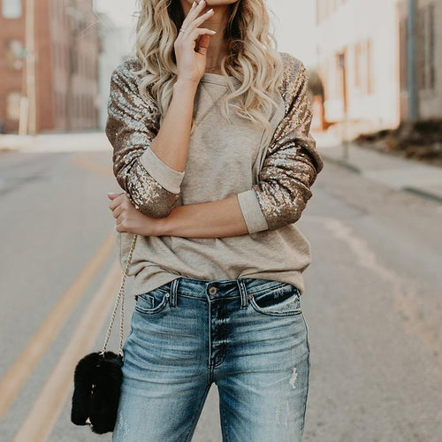 Sequin Casual Shirt