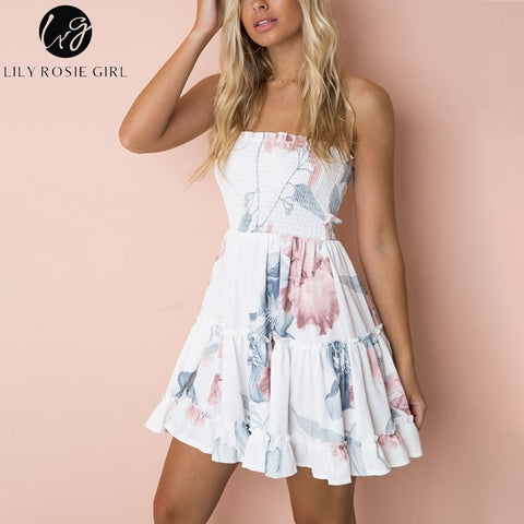 Summer Ruffled Dresses
