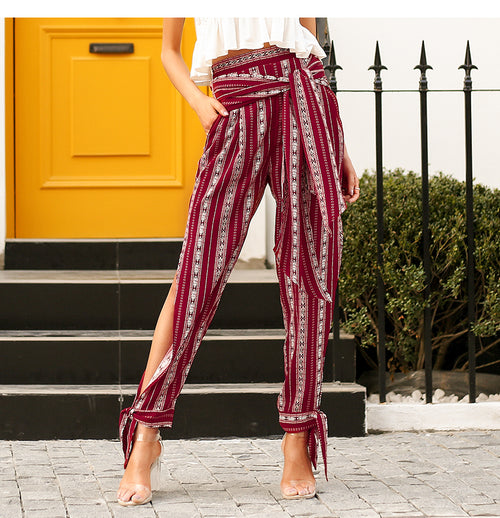 Breezy harem pants