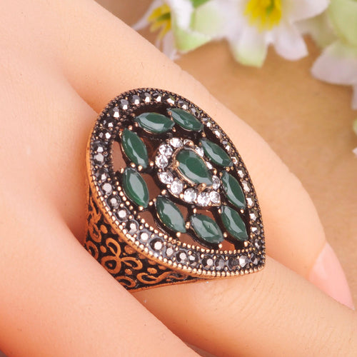 Large Vintage Jewelry Ring