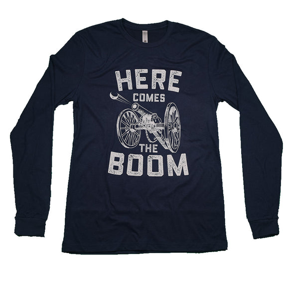 BOOM! Columbus Hockey Long Sleeve Tee