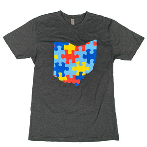 Diverse Ohio Tee Shirt in partnership with Project iAM and Acoustics for Autism