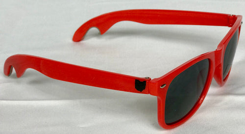BROHIO Sunglasses(Bottle Opener) Red
