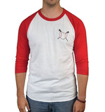Ohio Loves Baseball Raglan