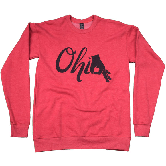 OHIO Circle Game Crew Sweater
