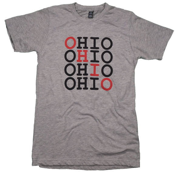 Repeating Ohio Tee