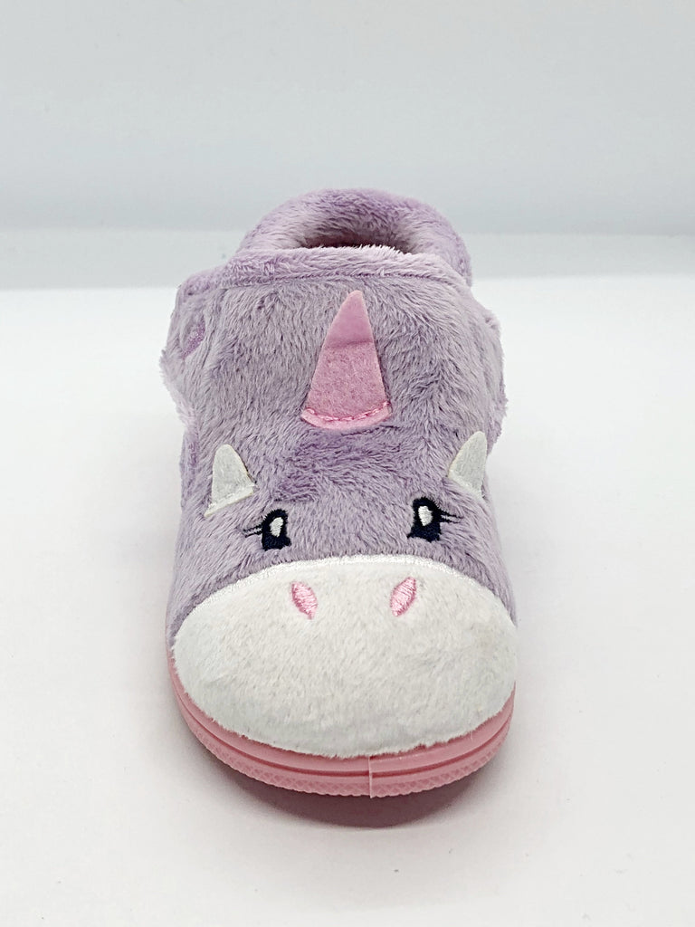 0bdb24af Chipmunks Unicorn Lilac Slipper; Chipmunks Unicorn Lilac Slipper ...