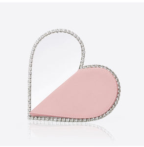 Diamond heart clutch