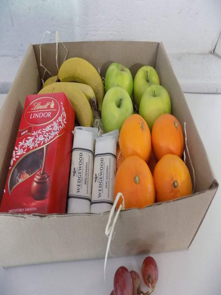 Okgethilwe -Fruits, lindt box, nougat