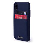 FINESTAR iPhone X Pocket Case - Dark Blue PCIXDB