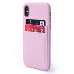 FINESTAR iPhone X Pocket Case - Pink PCIXP