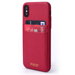 FINESTAR iPhone X Pocket Case - Red PCIXR