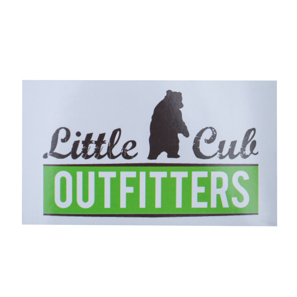 LIttle Cub Outfitters Logo Sticker