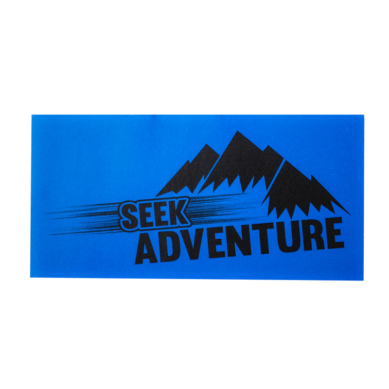 Seek Adventure Sticker