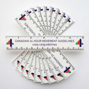 24-Hour Movement Guidelines Ruler Pack