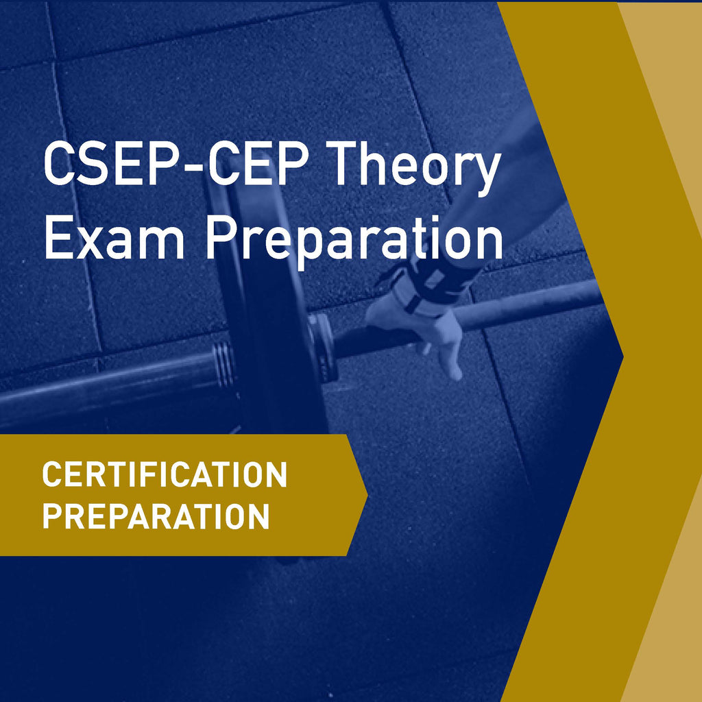 Certifications Preparation: CSEP-CEP Theory Exam Preparation