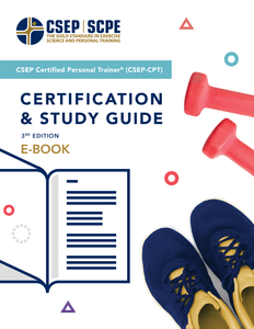 CSEP Certified Personal Trainer® (CSEP-CPT) Certification Study Guide, 3rd Edition - Digital Download (eBook)
