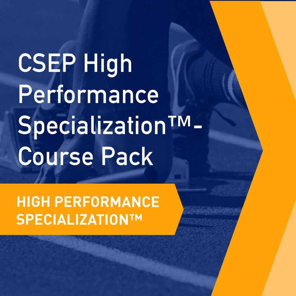 CSEP High Performance Specialization™ - Course Pack