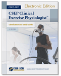 CSEP Clinical Exercise Physiologist™ (CSEP-CEP) Certification and Study Guide , 1st Edition- Digital Download (eBook)