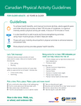 Canadian Physical Guidelines for Older Adults (65 years and older)