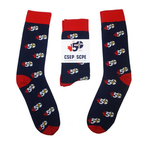 CSEP 50th Anniversary Socks