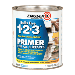 ZINSSER® Bulls Eye 1-2-3® Water-Base Primer