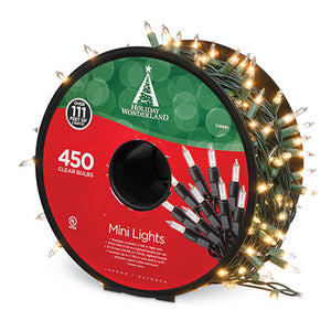 Holiday Wonderland 450 Light Clear Reel