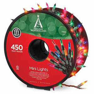 Holiday Wonderland 450 Light Multi Reel