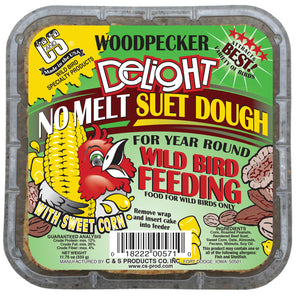 Woodpecker Delight No Melt Suet for Year Round Bird Feeding
