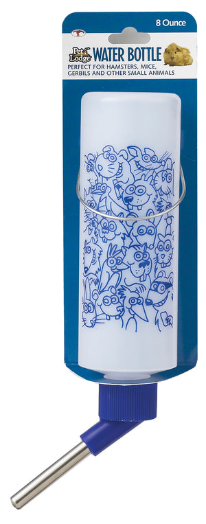 8 Ounce Opaque Plastic Water Bottle